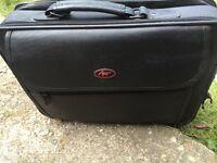 Leathers laptop case