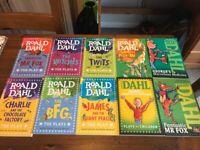 Selection of Roald Dahl books