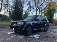LAND ROVER RANGE ROVER SPORT 5.0 V8 SUPERCHARGED WITH OVERFINCH UPGRADE