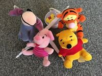 Vintage Winnie the Pooh baby mobile. For cot. Still works!