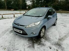 Ford fiesta. Automatic transmission