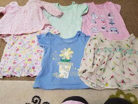 Baby girls 6 to 9 months bundle
