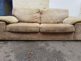 Fabric sofa for sale. FREE delivery in Derby
