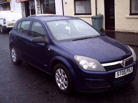 2005 05 Vauxhall/Opel Astra 1.6i 16v Easytronic Club 5DR ** ONLY 50000 MILES **