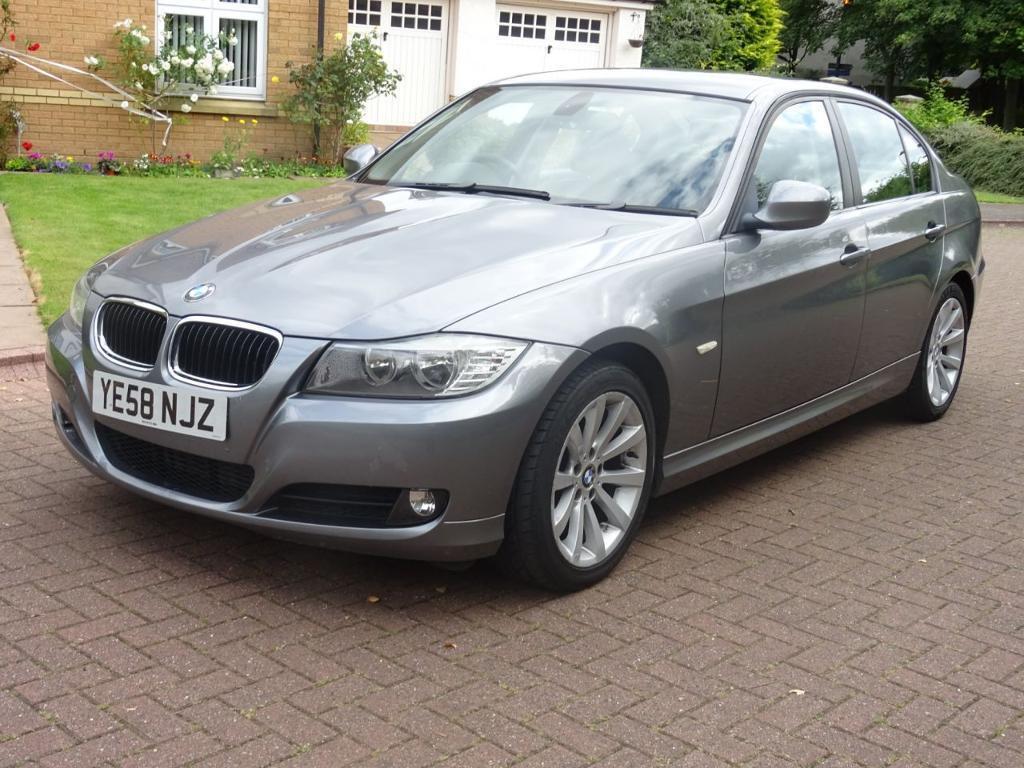 BMW 3 SERIES 2.0 320D SE 4d 175 BHP SERVICE RECORD** FULL YEAR (grey) 2008