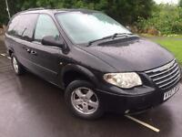 2007 Chrysler Grand Voyager executive xs 2.8 crd Auto # 7 seat Mpv # sat Nav # leather # P/s