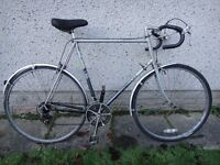 Raleigh Nova retro road bike, 700 wheels, 10 gears, 25 inch frame, suit taller person over 6ft