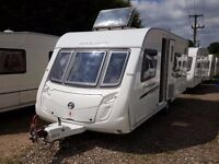 SUPERB 2010 Swift Challenger 570 Fixed Bed End Washroom Caravan with Motor Mover