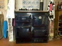 Rayburn 460k oil fired range cooker, stove, Central heating