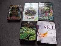 5 garden Books