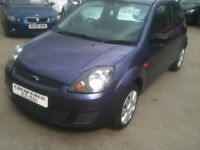 08 PLATE FORD FIESTA 1.2 STYLE 3DR 50000MILES £2650