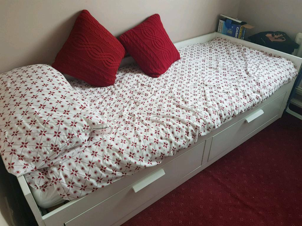 IKEA Brimnes Day-Bed and 1 mattress