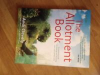 the Allotment book - hardback - unused