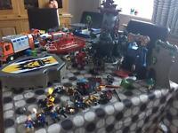 Mixed lot of playmobil
