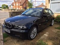 BMW 318ti Compact 2.0 petrol 2002 low mileage