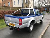 2004 MAZDA B2500 2.5 TD KING CAB 4 ACTION RAB 4x4 PICK UP TRUCK DRIVES GREAT