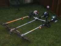 PETROL STRIMMERS £35 ALSO PETROL MULTI TOOLS BUSH CUTTERS £45