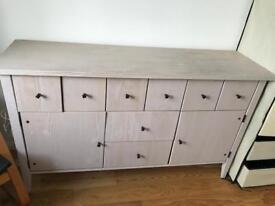 Large sideboard cabinet 136cm x 42cm