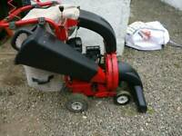 Petrol Vacuum and Shredder/Chipper