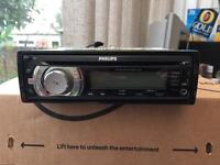 PHILIPS CEM3000 CAR STEREO RADIO / CD MP3 WMA AUX USB PLAYER