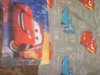Disney cars duvet set in vgc
