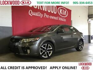 2013 Kia Forte Koup SX - ONE OWNER TRADE, NO ACCIDENTS***