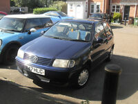 vw polo AUTO low mileage good condition all round e/windows c/locking new mot hard to find one