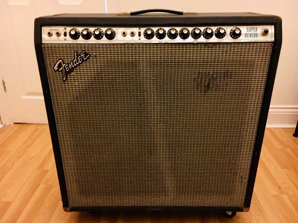fender super reverb amp serial numbers
