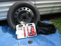BMW Space Saving Spare Wheel Kit Fits: X1 (E84)