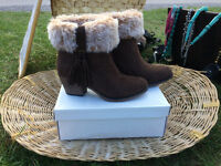 Womens Rocket Dog Ankle Boots - unworn+boxed- size 5 Brown