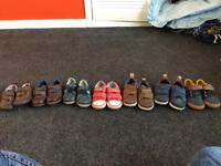 7 pairs of Clark's shoes