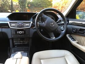 Mercedes E350 CDI Estate - Lady Owner, 36000 Genuine Miles, Showroom Condition & Many Extras