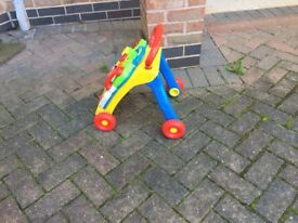 V- tech activity baby walker £12 can deliver if local