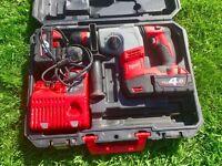 Milwaukee HD18HX-432C SDS Plus Rotary Hammer Drill 2x4.0Ah Li-Ion 18v
