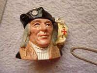 Sir Christopher Columbus --Toby Jug