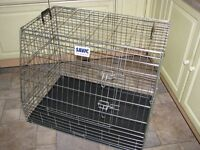 Savic dog crate for car - like new