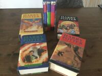 Harry potter books x 7