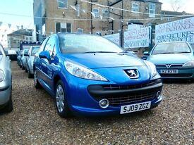 2009 Peugeot 207 1.4 petrol ideal first car 82.000 miles