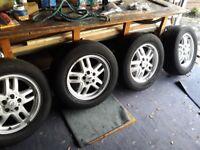 4 range rover vogue 2003 L322 18 inch alloy wheels