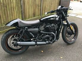 Harley Davidson Street Custom Cafe Racer Style