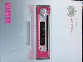MP3 CD tuner