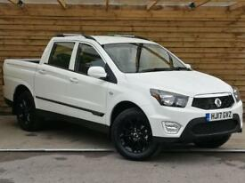 SsangYong Musso 2.2 EX 5dr Tip Auto EX DEMONSTRATOR (grand white) 2017