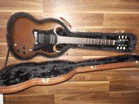 2012 Gibson SG special HH Dark Walnut with case