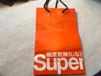 Super dry gift bag £3