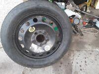 "bmw space saver wheel ""16"