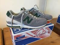 New Balance uk9 as new condition with box