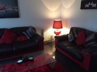 Sofa and coffee table and dining table chairs for sale all excellent condition £600 ono