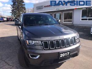 2017 Jeep Grand Cherokee Laredo, Bluetooth, Four Wheel Drive