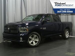 2015 Ram 1500 Sport Crew 4x4 *Touch Screen/Leather*