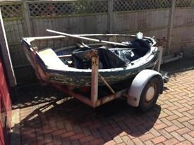 Larch boat project or planter